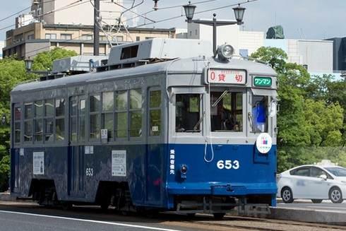広島電鉄「被爆電車」を特別運行、走行の様子をネット配信