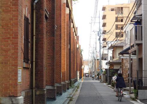 赤レンガ造りでは国内最大級、旧広島陸軍被服支廠(出汐倉庫)