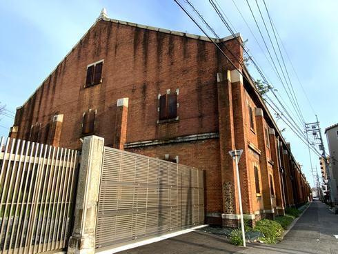 旧広島陸軍被服支廠(出汐倉庫)入口