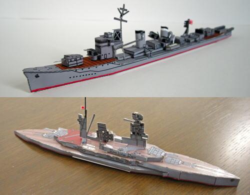 戦艦や自衛官正帽など、海上自衛隊がペーパークラフト配布中!