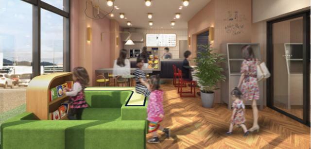 みのりカフェfukuyama 店内イメージ