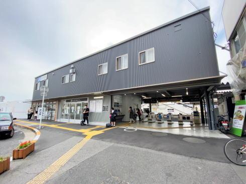JR西広島駅 仮設駅
