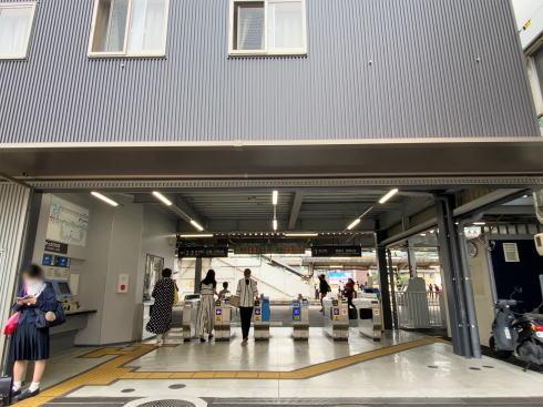 JR西広島駅 仮設駅舎の様子2