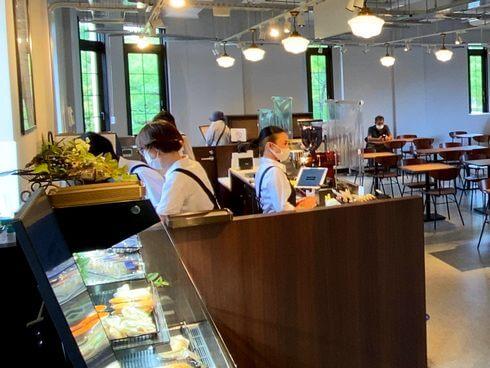 レストハウス2F 喫茶カウンター