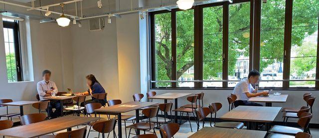 レストハウス2F カフェスペース