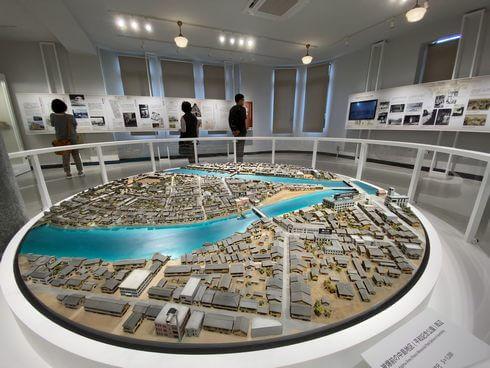 レストハウス3F 原爆資料館に展示されていたジオラマ