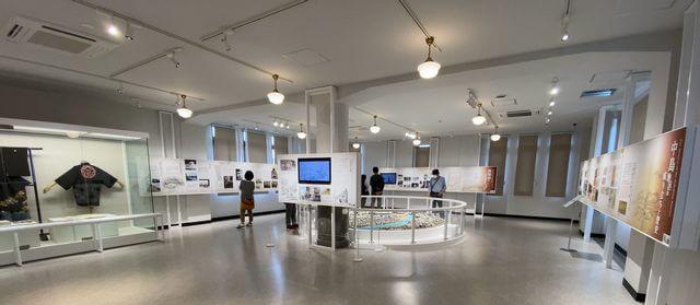 レストハウス3F 旧中島地区の展示室