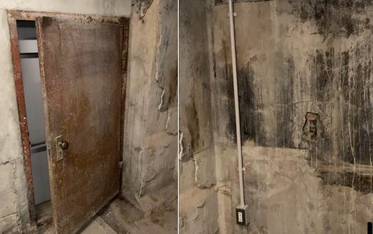 レストハウス地下 保存展示