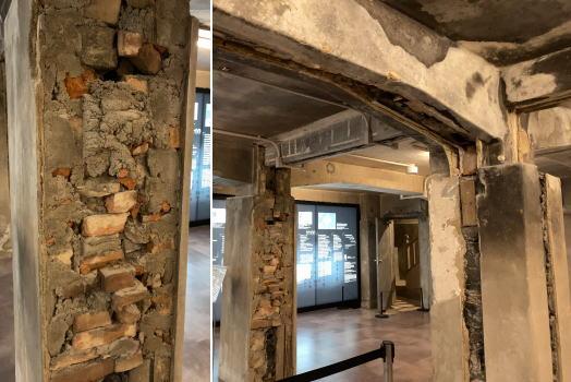 広島レストハウス地下 保存展示