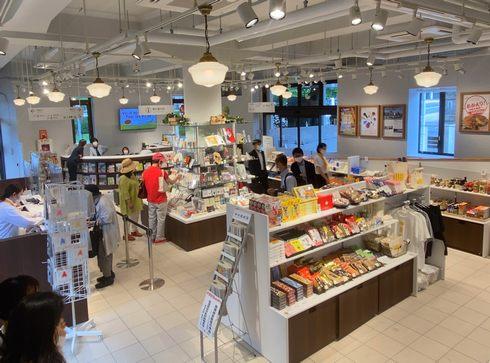 広島レストハウスの1F売店