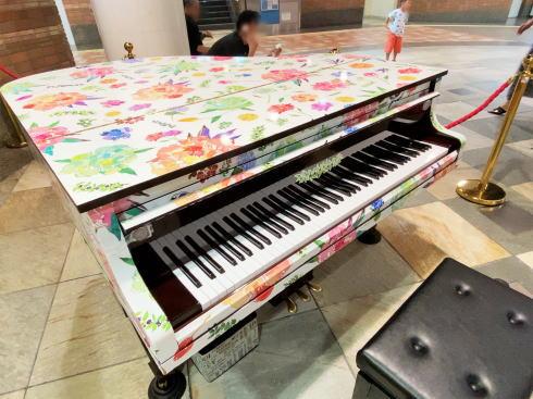 ストリートピアノ、広島の地下街シャレオに初常設