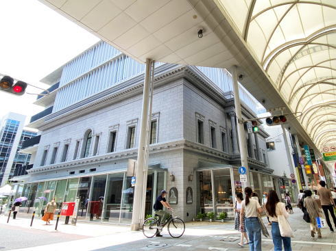 広島アンデルセン リニューアルオープンしてからの外観写真