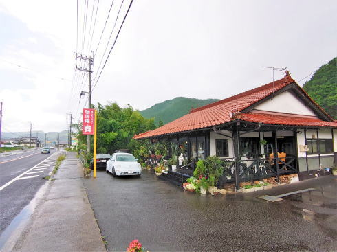 安芸高田市 珈琲庵 舞 外観2