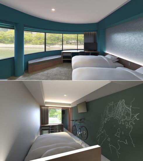 エンホテル広島、京橋川沿いに新たなコンセプトホテル