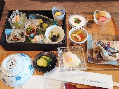 グランヴィリオホテル宮島 和蔵 朝食