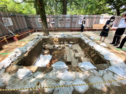 広島で被爆遺構 限定展示スタート、かつての暮らしの跡 直に感じて