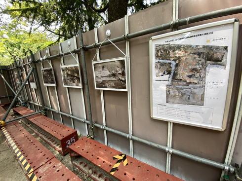 広島平和記念公園 被爆遺構 限定展示の様子3