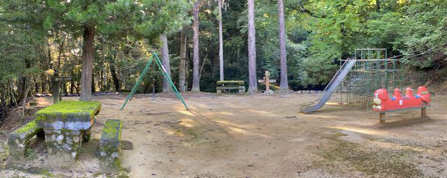 郡山公園 遊具スペース