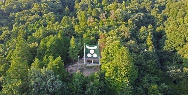 郡山公園展望台の様子