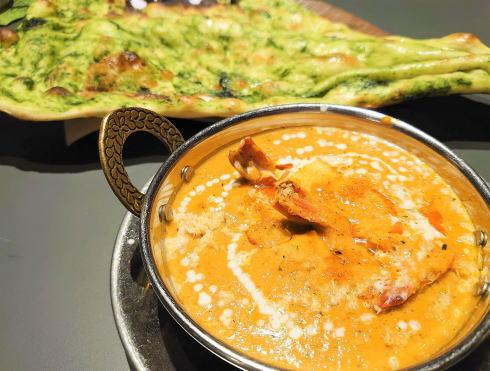 広島市 カレー・インド料理 タブラ(TABLA)エビコルマ
