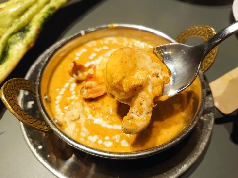 広島市 カレー・インド料理 タブラ(TABLA)エビコルマ2