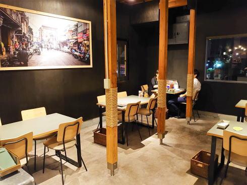 広島市 カレー・インド料理 タブラ(TABLA)店内の様子