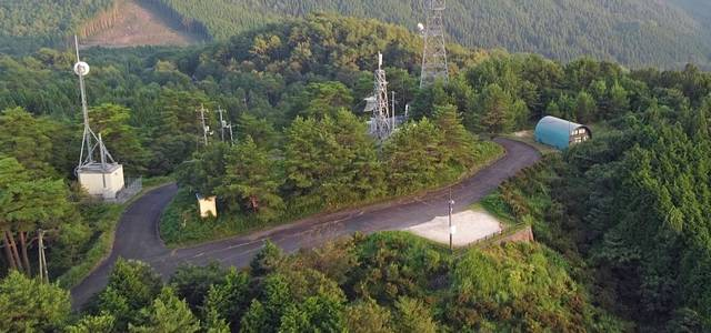 吉和展望台 山頂の風景