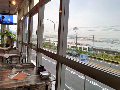 廿日市市阿品 ユバ(yuba)店内からの風景