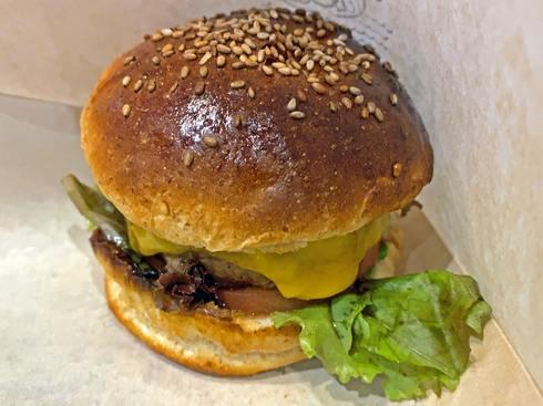 廿日市市阿品 ユバ(yuba)オリジナルハンバーガー2