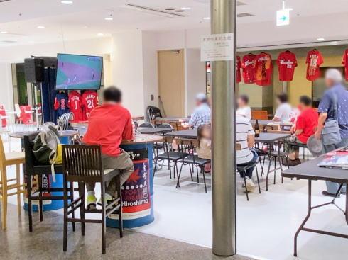 スポーツファンベース広島 シャレオに期間限定オープン