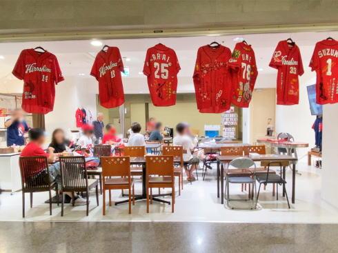スポーツファンベース広島・津田恒美記念館、シャレオに期間限定オープン