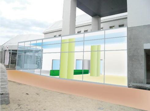広島市現代美術館 改修後のイメージ