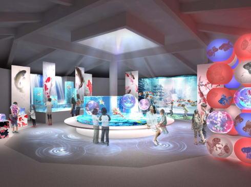 宮島水族館 新施設完成予想図