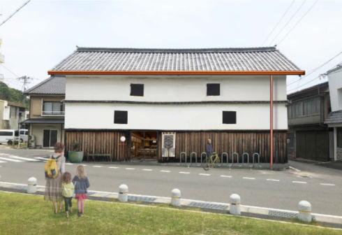 瀬戸田資料館をコーヒースタンドへ改修、港目の前 観光拠点へ