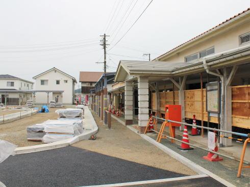 備後庄原駅 駅舎の改修
