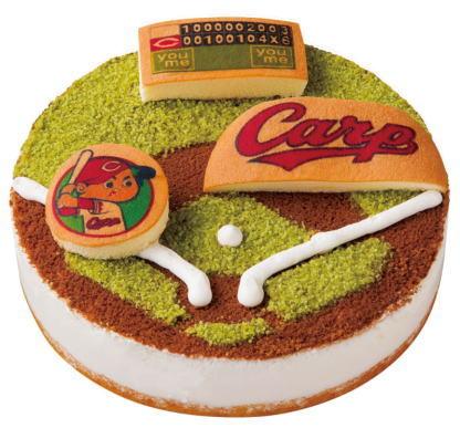 カープのクリスマスケーキ2020、ゆめタウンで受付スタート
