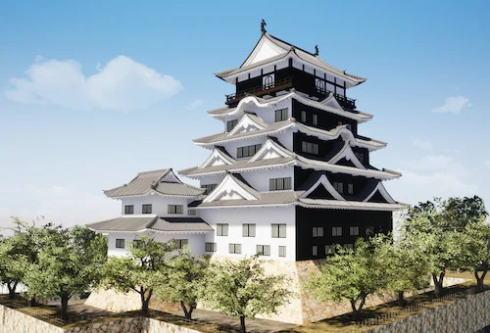 福山城が「鉄板張り」で全国唯一の城へ「令和の大普請」スタート