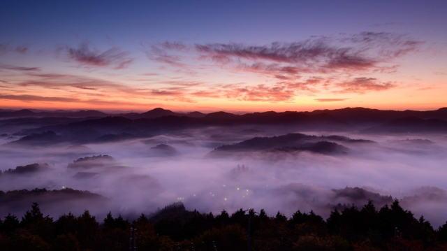 神石高原町の雲海イベント unkai360