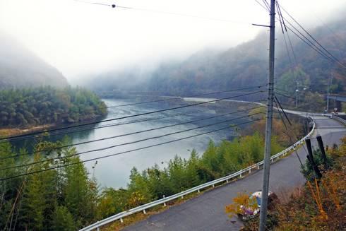 長谷駅 プラットホームからの眺め01