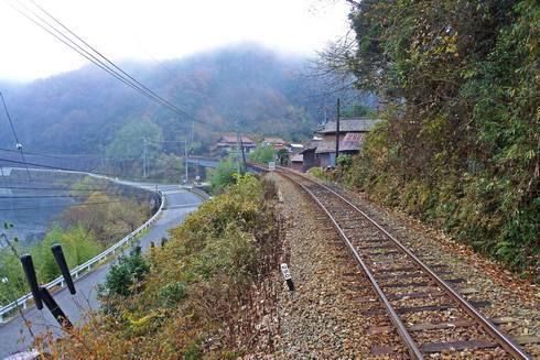 長谷駅 プラットホームからの眺め02