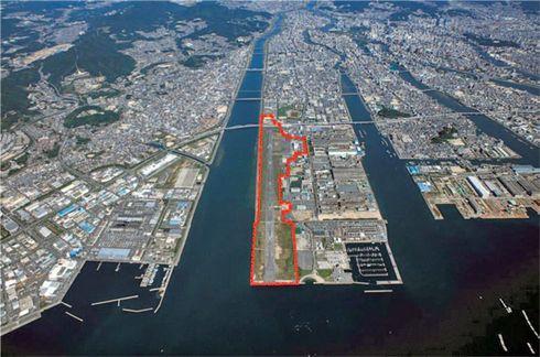 広島西飛行場跡地 活用、野球場など4つのエリア誕生計画
