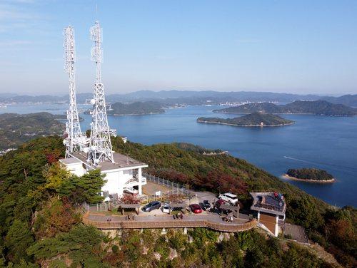 高見山展望台、尾道市「向島」の最高峰から広がる絶景