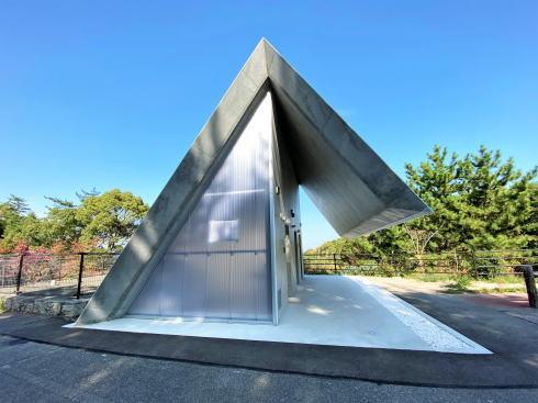 高見山の絶景おもてなしトイレ、広島の建築家たまごが設計