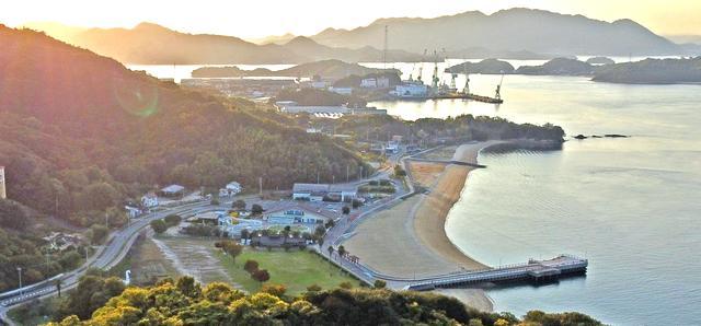 因島アメニティ公園としまなみビーチ