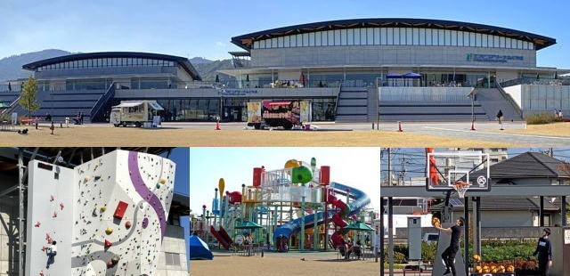 エフピコアリーナふくやま(福山市総合体育館と公園)