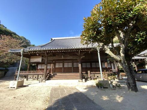 下蒲刈町 弘願寺(ぐがんじ)お堂