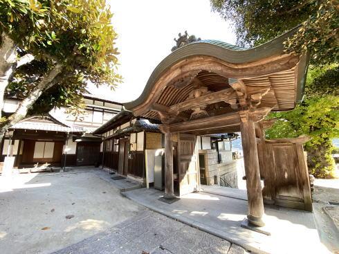 下蒲刈町 弘願寺(ぐがんじ)の門
