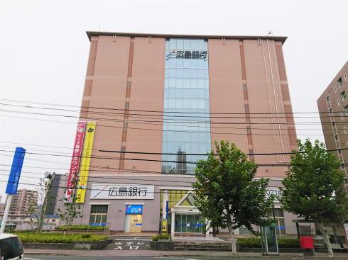 広島銀行本店 仮店舗の写真