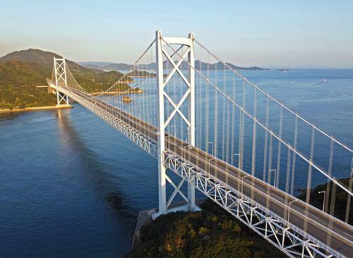 因島大橋(広島県尾道市 向島から因島)
