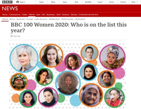 BBCが選ぶ「100人の女性」日本からは広島の杜氏・今田美穂さん選出